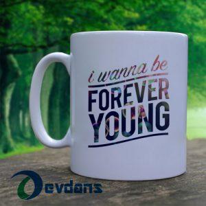 1D one direction I wanna be forever Mug, Coffee Mug, Ceramic Mug, Coffee Mug