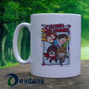 5 second of summer hero Mug, Coffee Mug, Ceramic Mug, Coffee Mug