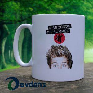 5 second of summer Luke Hemmings Mug, Coffee Mug, Ceramic Mug, Coffee Mug