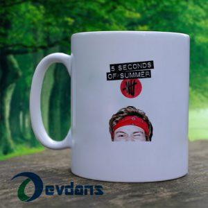 5 second of summer ashton irwin logo Mug, Coffee Mug, Ceramic Mug, Coffee Mug