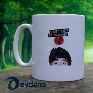 5 second of summer calum hood Mug, Coffee Mug, Ceramic Mug, Coffee Mug