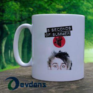 5 second of summer Michael Clifford Mug, Coffee Mug, Ceramic Mug, Coffee Mug
