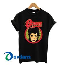 David Bowie Tshirt men, women adult unisex size S to 3XL