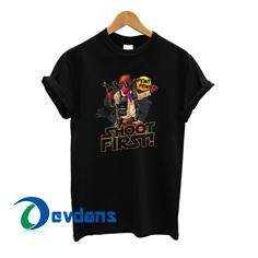 Deadpool Hans Solo Tshirt men, women adult unisex size S to 3XL