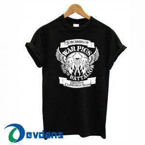 black sabbath - war pigs T-shirt men, women adult unisex size S to 3XL