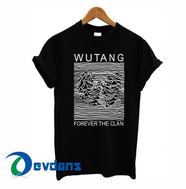 Wu Tang Clan Parody Joy Division T Shirt For Women and Men