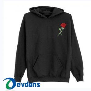 Rose pocket Hoodies size S,M,L,XL,2XL Unisex Adult