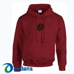 Rose black Hoodies size S,M,L,XL,2XL Unisex Adult