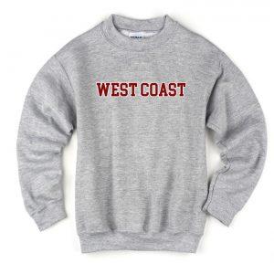 West Coast Cheap Sweatshirt, Cheap Sweater Unisex Adults