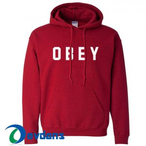 Obey Hoodie Unisex Adult Size S to 2XL