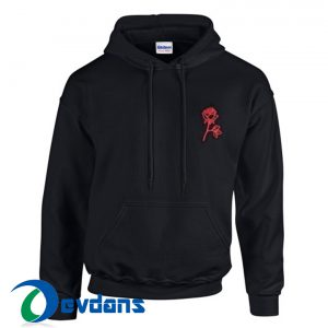 Rose Poison Hoodie Unisex Adult Size S to 2XL