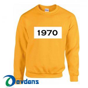 1970 Yellow Sweatshirt
