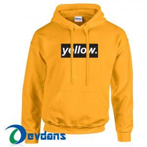 Yellow Logo Hoodie