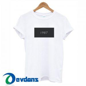 1987 White T Shirt