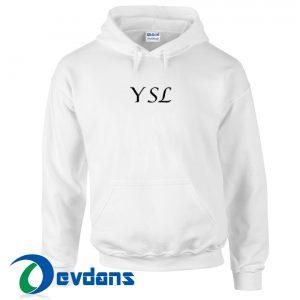 YSL Font Hoodie