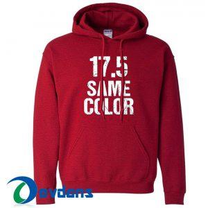 17 5 Same Color Hoodie