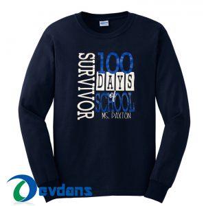 100 Days Of School Sweatshirt