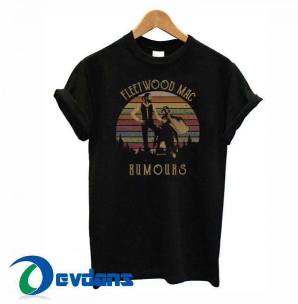 Stevie Nicks Fleetwood Mac Rumours T Shirt