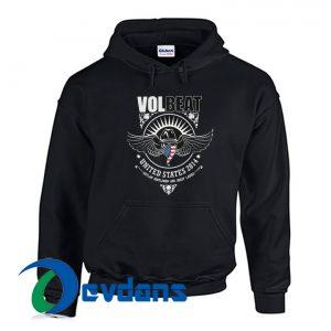 Volbeat Skull Wings US 2014 Hoodie
