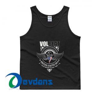 Volbeat Skull Wings US 2014 Tank Top