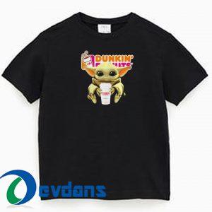 baby Yoda Dunkin T Shirt